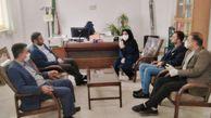بازدید مدیر جهاد کشاورزی شهرستان گرگان از روند توزیع کود در گلستان