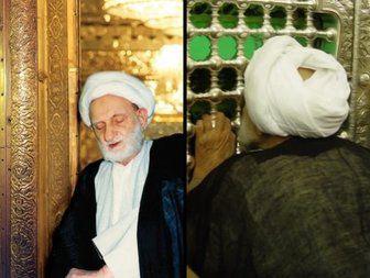 فیلم/ مکاشفه مرحوم بهجت در حرم امام مهربانی ها