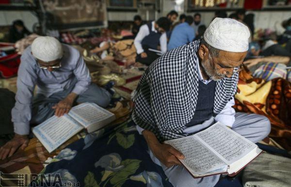 200 مسجد در گلستان پذیرای معتکفین است