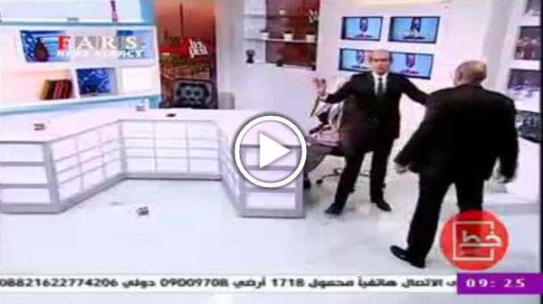 دعوای دو کارشناس در برنامه زنده تلویزیون!