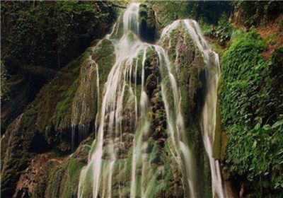 آبشار تمام خزهای کبودوال گلستان به ثبت ملی رسید