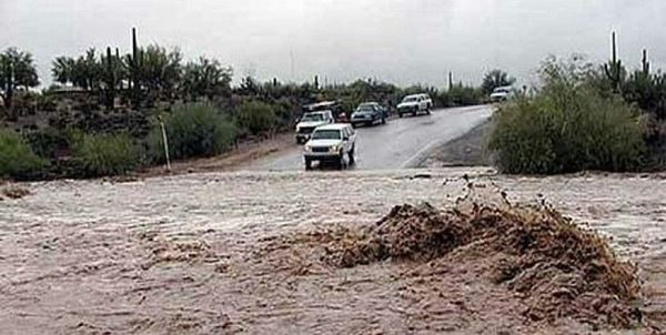 جاده گنبد –کلاله در گلستان به دلیل آبگرفتگی مسدود شد
