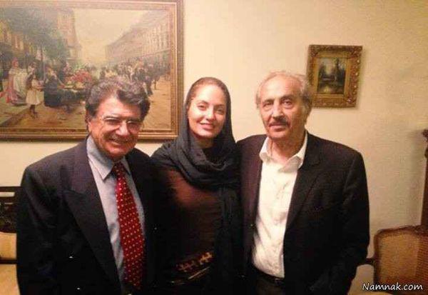 مهناز افشار در کنار خواننده هتاک + عکس