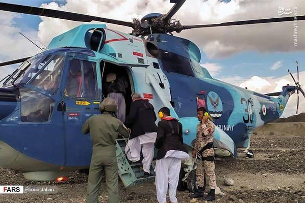 فیلم/ آخرین وضعیت کمکرسانی در سیستان و بلوچستان