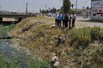 معضل تخلیه پساب های خانگی به کانال های داخل شهر بندر ترکمن پیگیری شد
