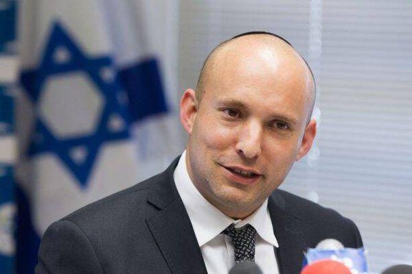 فیلم/ فرار وزیر جنگ اسرائیل از موشکهای مقاومت!