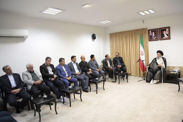 دیدار فعالان گردشگری گلستان با نماینده ولی فقیه در استان