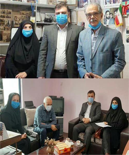 بازدید «حسن دیلم» از دو دفتر توزیع نشریات در استان گلستان