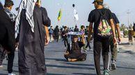 فیلم/ ابراز احساسات پیرمرد عراقی به تصویر حاج قاسم