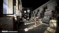 بنای تاریخی «کارخانه پنبه لیوانی» بندرگز در حال مرمت است
