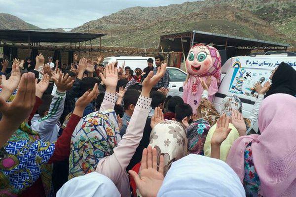 برگزاری جنگ شادی جهت ایجاد نشاط اجتماعی در مناطق سیل زده گمیشان