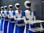 عکس/ رباتهای پیشخدمت در رستوران هندی