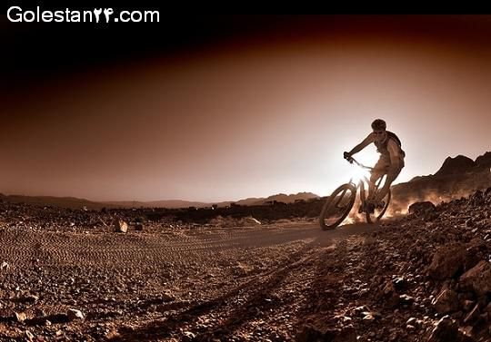 مرحله دوم مسابقات دوچرخه سواری کوهستان