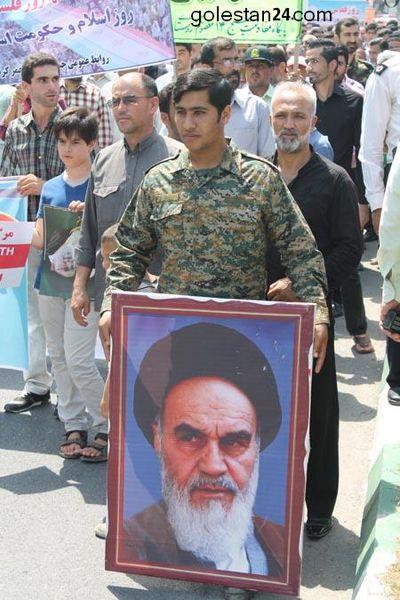 گزارش تصویری 1 از راهپیمایی روز قدس
