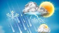 پیش بینی دمای استان گلستان، سه شنبه بیست و پنجم شهریور ماه