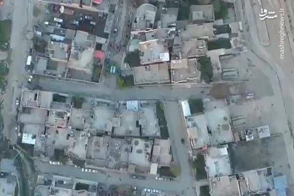فیلم/ هدف قرار دادن مخفیگاهها تروریستها در ادلب