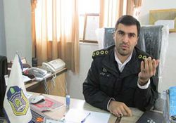 رئیس پلیس راهور کلاله به یک شایعه پایان داد