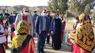 بازدیداز مدرسه ی عشایری شهید حمزه روستای نارلی آجی سو شهرستان مراوه تپه