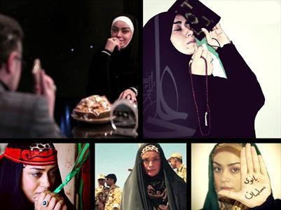 پیام الهام چرخنده به بانوان در جشنواره فیلم فجر +تصاویر