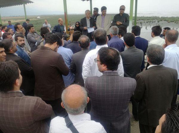 بازدید روابط عمومیهای ادارات گلستان از خلیج گرگان با دستور استاندار