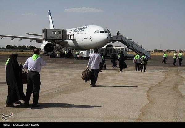آغاز پروازهای برگشت حج ۹۸ از امروز