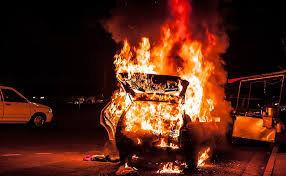 فیلم/انفجار یک خودرو بمبگذاری شده در یافا