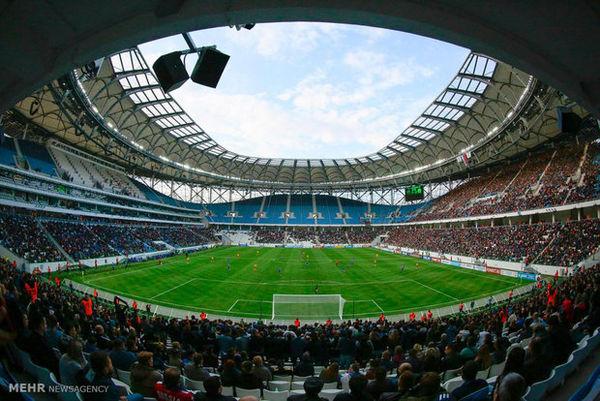 نصب تلویزیون اتوبوسی جام جهانی در ناهارخوران گرگان