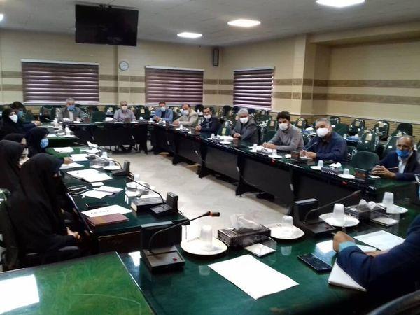 نشست شورای سالمندان علی آباد با حضور فرماندار و روسای ادارات شهرستان