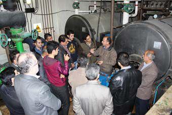 بازدید دانشجویان دانشگاه آزاد کردکوی از شرکت گاز گلستان