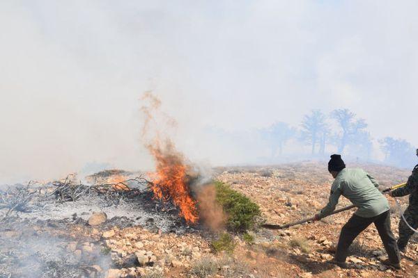 حدود ۴۰ روستای استان به وسایل اطفای حریق در کانکس تجهیز شده اند