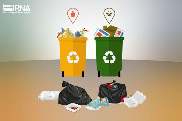 شیوع کرونا طرح تفیک زباله را در گرگان متوقف کرد
