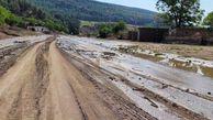 خسارت باران و طوفان تابستانه به شرق گلستان خسارت وارد کرد