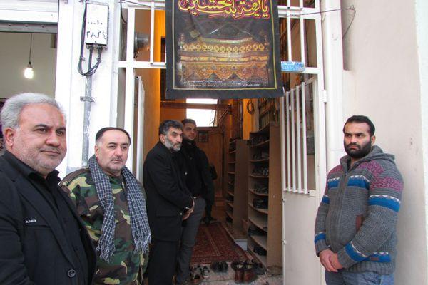 مراسم بزرگداشت هفتمین روز تدفین شهید زاهدپور در کردکوی+تصاویر