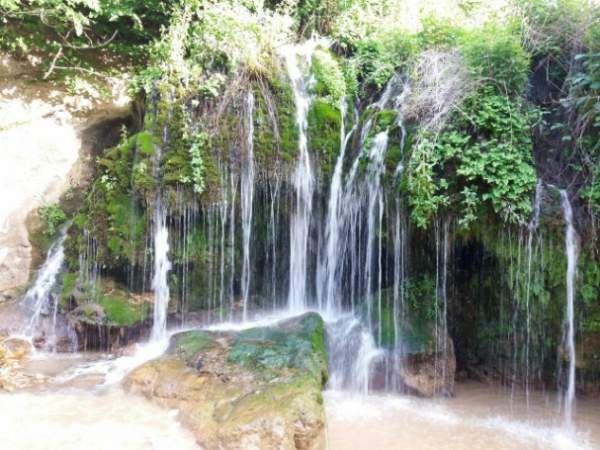 پنو، حمام طبیعی شهرستان گالیکش+ عکس