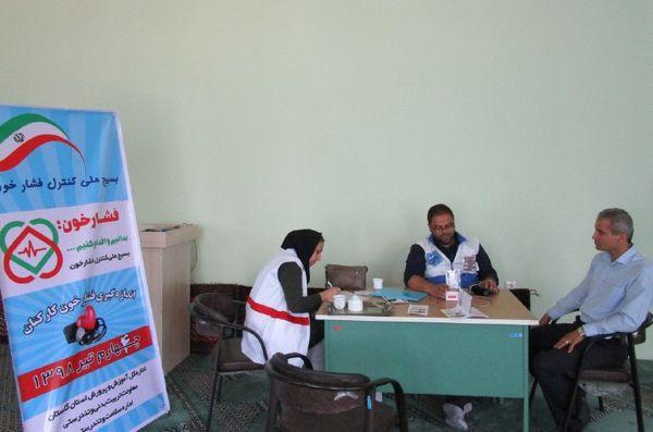 اجرای طرح غربالگری بسیج ملی کنترل فشار خون