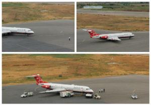 برنامه پرواز فرودگاه بین المللی گرگان، یکشنبه ششم بهمن ماه