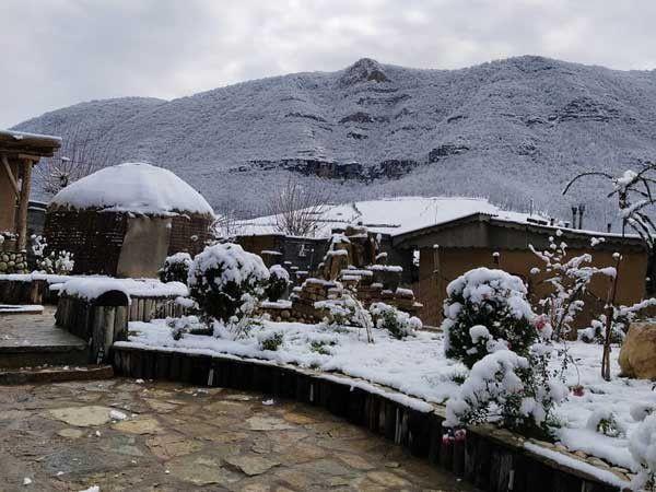 زیبایی هایی برف در ارتفاعات گلستان
