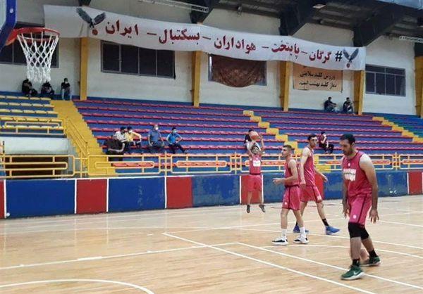 شهرداری گرگان و مس رفسنجان در آغاز لیگ برتر بسکتبال به مصاف یکدیگر میروند