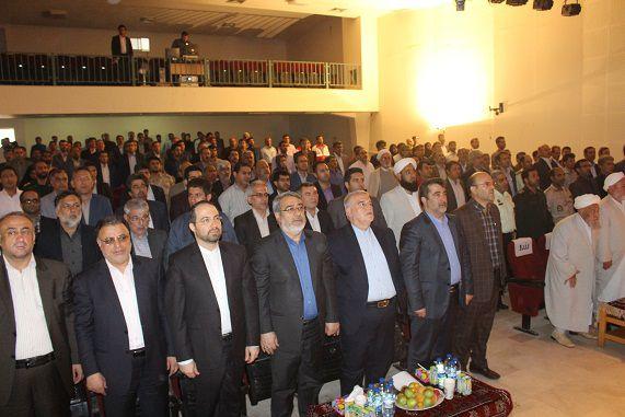 تصاویر/ حضور وزیر کشور در جلسه اداری ادارات غرب گلستان