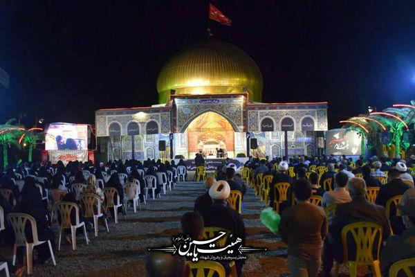 هیات یاحسین شهرستان بندرگز در شب چهارم محرم