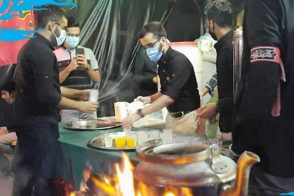 موکب انصارالمهدی(عج) اتحادیه انجمن های اسلامی دانش آموزان در گرگان برپا شد