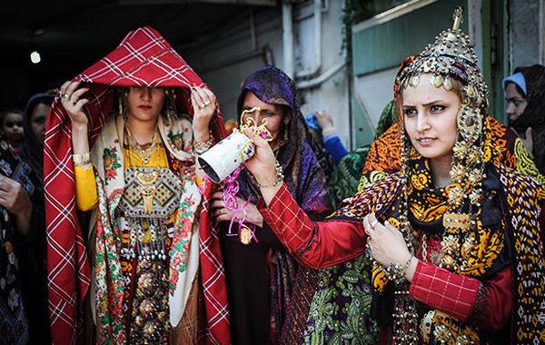گزارشی از آداب و رسوم و فرهنگ ترکمنها+تصاویری از عروسی