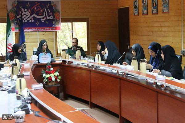 نقش زنان رزمنده استان گلستان در دفاع مقدس پررنگ بوده است