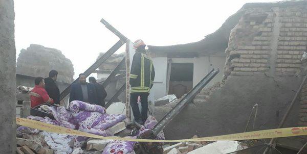 انفجار منزل مسکونی و مصدومیت یک نفر در گرگان