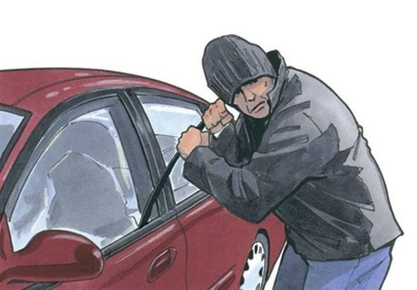 فیلم/ توصیههای ایمنی سارق خودرو به مردم