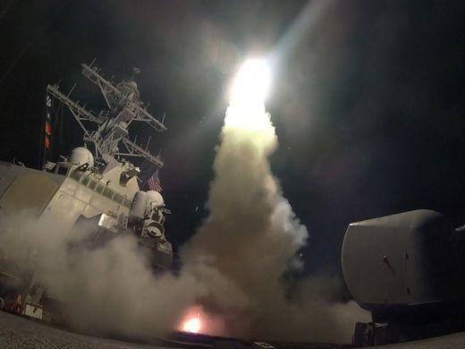 حمله پلاستیکی غرب به سوریه و واکنش های کاربران!