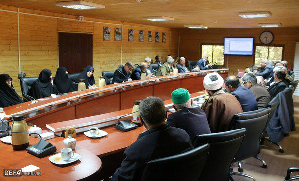 برگزاری جلسه کارگروه محتوایی مرکز فرهنگی دفاع مقدس گلستان