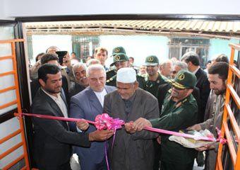 افتتاح اولین مدرسه ساخته شده توسط بسیج سازندگی گلستان + تصاویر