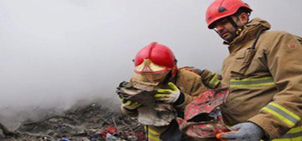 شعله های آتش آسیبی به