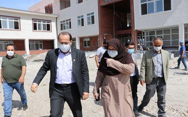 پروژههای در دست ساخت استان گلستان بازدید شد